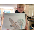 Sketch of a bird by Will in Year 4