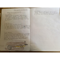 Josie (Y2) writing a diary as Amy Johnson