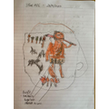 Stone Age artwork by Will in Year 4