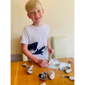Rock experiment by Will in Year 4