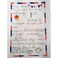 VE Day invitation by Amelia in Year 2