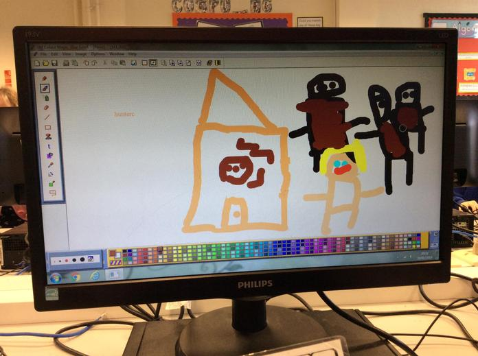 Creating art with technology