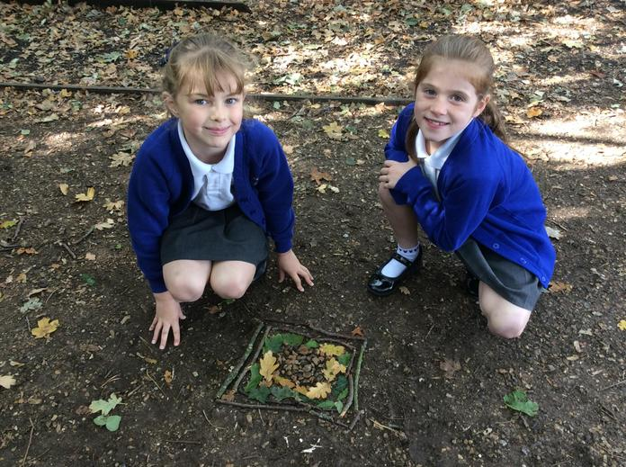 Creating outdoor patterns and sculptures