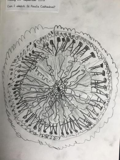 Sketch of the dome
