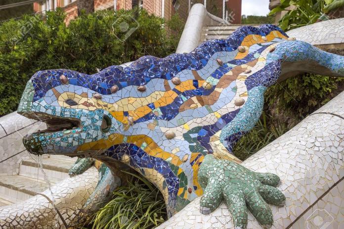 Gaudi's Lizard Park Guel