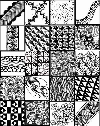 Zentangle Exampls