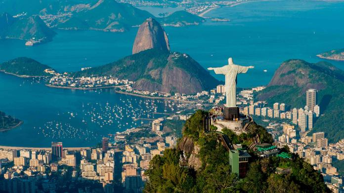 South America, South East Brazil and Rio