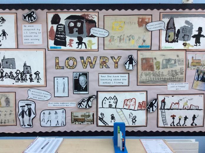 Our Lowry display