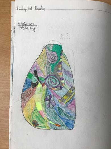 Dragon egg design