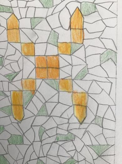 Design for Roman Mosaic
