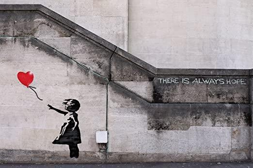 Example of Banksy's work