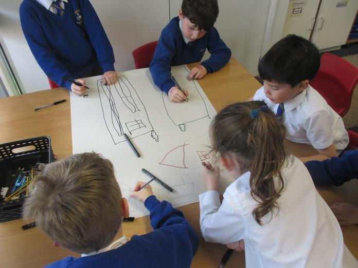 Working collaboratively exploring our ideas