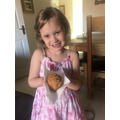 Hattie's Hedgehog baking