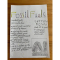 Jacob's fossil fuel poster