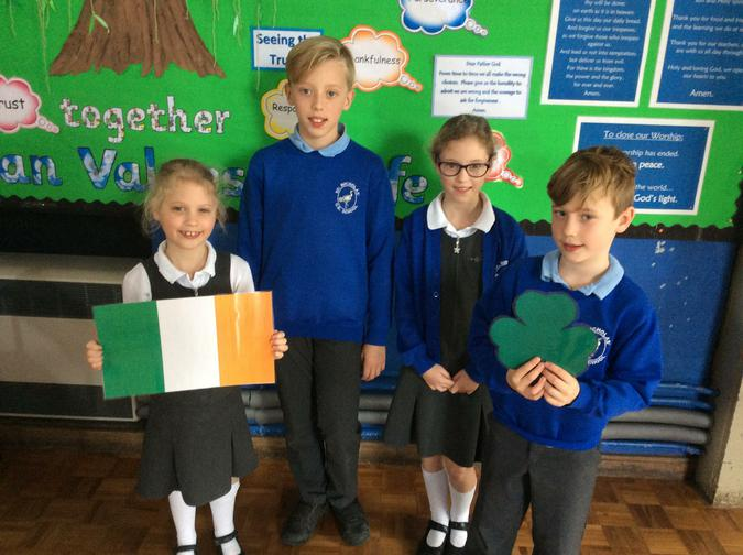 St Patrick's Day is celebrated by the Irish