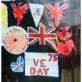Pippa's VE day window