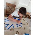 Making a Union Jack Flag