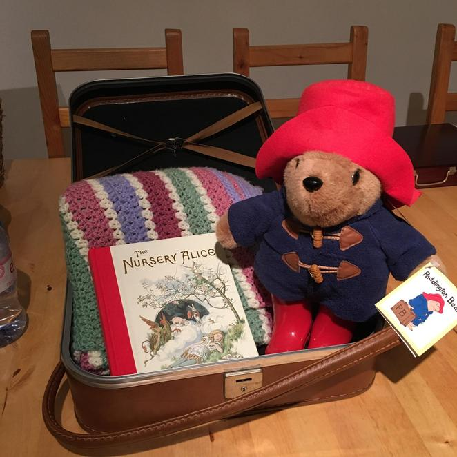 Reading for Pleasure Suitcase
