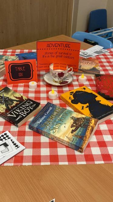 Our Reading Cafe Event