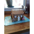 Ewan's gingerbread house