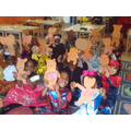 Year 1 dressed up as their favourite toy with their handmade teddy bears