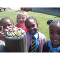 Using natural objects to show Easter symbols