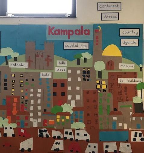 Class collage of Kampala (2020)