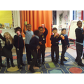 Year 1 creating their own ball and cup toys