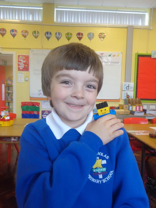 Jake made a lego version of himself!