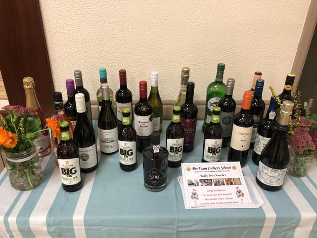 Raffle - many thanks to all who donated prizes :-)