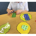 Counting and recognising numbers.
