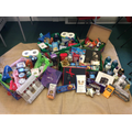 The amazing donations that the whole school provided!