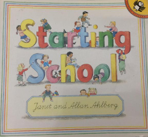 A book which takes a look at the first day of school and the emotions that come with it.