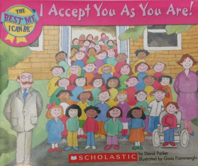 A book highlighting the importance of accepting people as they.