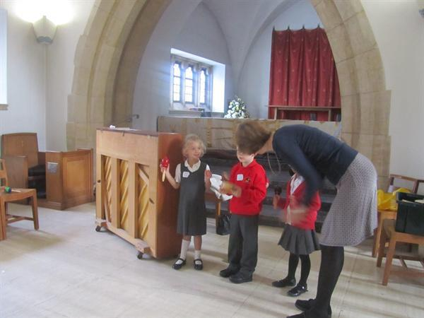 with year 1 at the cathedral