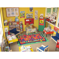 Our colourful library