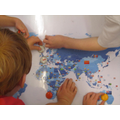 Exploring the world map