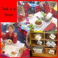 Talk is a focus