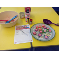 Reception made Diwali sweets to share