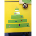 Use the different lengths to make a tree!