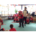 Learning our Lion Dance