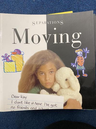 An honest look at moving house and the feelings attached to this.