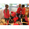 Investigating the mystery in our book corner