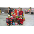 Delivering Christmas Shoeboxes