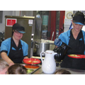 Our wonderful catering staff.