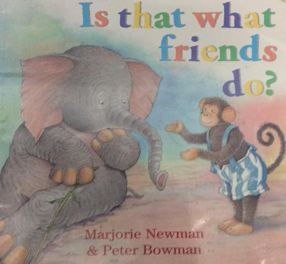 This book looks at what is and is not appropriate for friends to do.