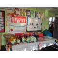 Cherry Class stall at the Christmas Fair
