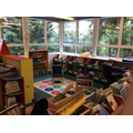 Our Library Area in the Learning Lab