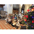 Year 2 Carol Service at St Nicolas Church