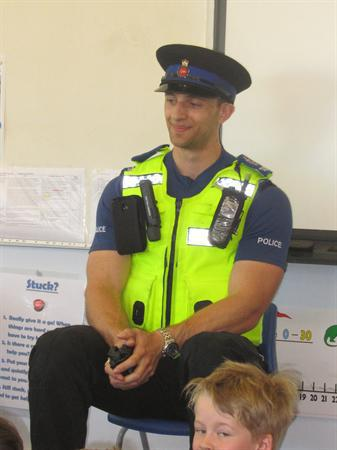 Our community police officer